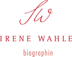 Biographin Irene Wahle